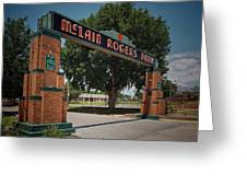 Mclain Rogers Entrance Greeting Card