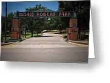 Mclain Rogers Park Greeting Card