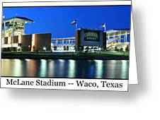 Mclane Stadium Print Greeting Card