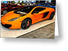 Mclaren 12c Coupe Greeting Card