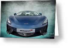 Mclaren Sports Car Greeting Card