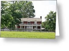 Mclean House Appomattox Court House Virginia Greeting Card