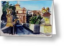 Mdina Gateway Greeting Card