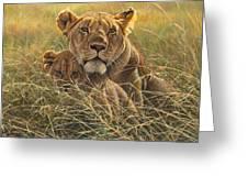 Me And Mum Greeting Card