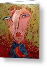 Me Jane Who The Hell Are You Greeting Card by Charlie Spear