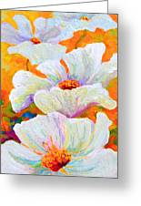 Meadow Angels - White Poppies Greeting Card