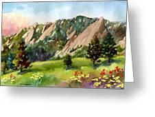 Meadow At Chautauqua Greeting Card