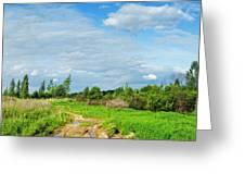 Meadow Road Greeting Card