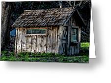 Meadow Shelter Greeting Card