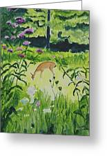 Meadow Surprise Greeting Card