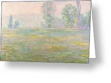 Meadows In Giverny Greeting Card