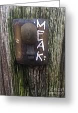 M.e.a.k. Greeting Card