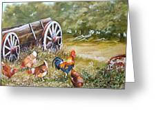 Meals And Wheels Greeting Card