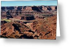 Meander Overlook - Dead Horse Point - Panorama Greeting Card
