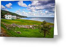 Meat Cove Greeting Card