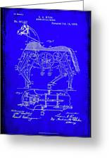 Mechanical Horse Patent Art 1b           Greeting Card
