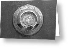 Mecury Emblem Greeting Card