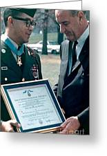 Medal Of Honor Ceremony Greeting Card