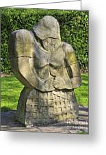 Mediaeval Knight. Greeting Card