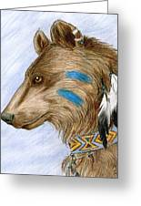 Medicine Bear Greeting Card