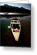 Medicine Lake In Jasper National Park Greeting Card