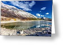Medicine Lake Jasper Greeting Card