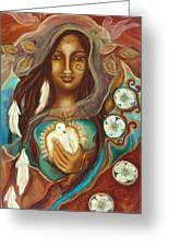 Medicine Woman Greeting Card