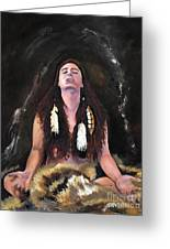 Medicine Woman Greeting Card