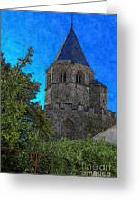 Medieval Bell Tower 1 Greeting Card