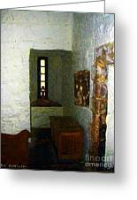 Medieval Monastic Cell Greeting Card