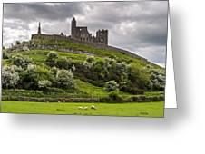 Medieval Rock Of Cashel Ireland Greeting Card