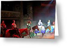 Medieval Times Dinner Theatre In Las Vegas Greeting Card
