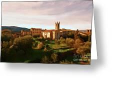 Medieval Tuscany Greeting Card