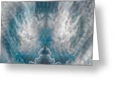Meditating Cloud - 2 Greeting Card