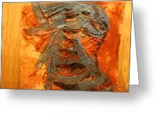 Meditation - Tile Greeting Card