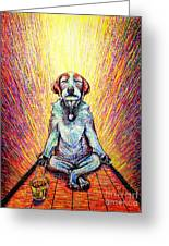 Meditation Greeting Card