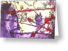 Meditations And Love Letters #15132 Greeting Card