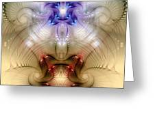 Meditative Symmetry 3 Greeting Card