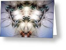 Meditative Symmetry 4 Greeting Card