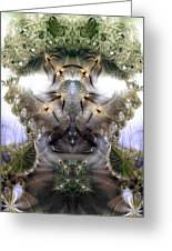Meditative Symmetry 5 Greeting Card