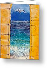 Mediterranean Meditation  Greeting Card