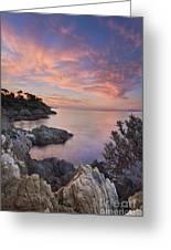 Mediterranean Sunrise Greeting Card