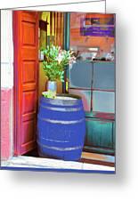 Mediterranean Tapas Bar, Palma De Mallorca Greeting Card