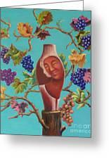 Meditrina Greeting Card