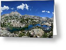 Medley Lake - Sierra Greeting Card