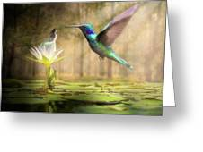 Meeting Mother Nature Greeting Card
