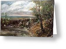 Meeting Of The Waters Greeting Card