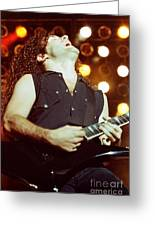 Megadeath 93-marty-0379 Greeting Card