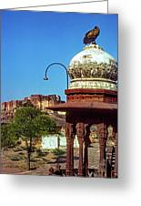 Mehrangarh Fort - Approach With Caution Greeting Card
