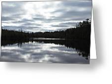 Melancholy Reflections Greeting Card